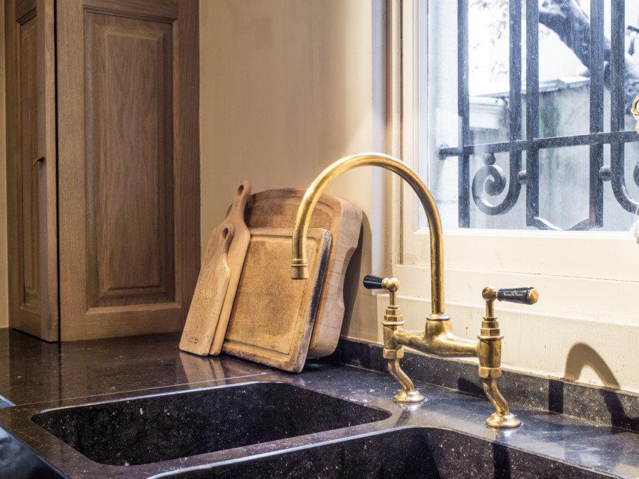 Landelijke keukenkranen taps baths