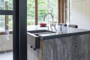 landelijke keukenkranen - klassieke kranen - retro kranen