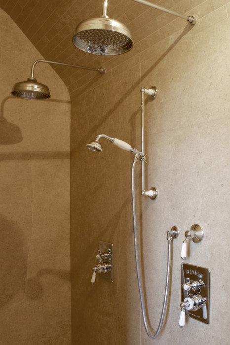 Vaak Landelijke opbouw en inbouw douchekranen   Taps & Baths HO88