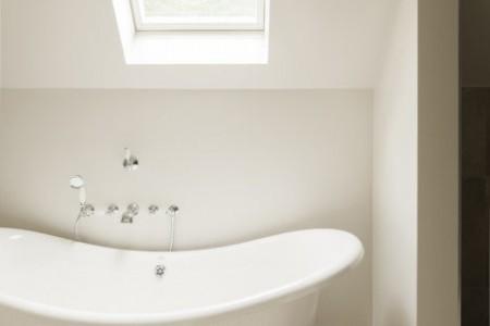 vrijstaand bad - landelijk bad