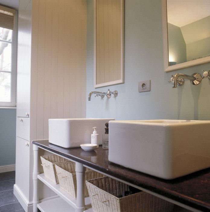 Retro wastafels voor uw landelijke badkamer taps baths - Wastafel originele ...