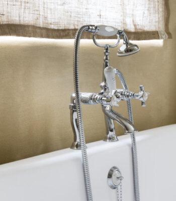 vrijstaande badkraan - klassieke kranen - retro kranen
