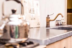 keukenmengkraan - koperen kranen