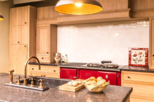 landelijke keukenkranen - klassieke kranen - retro kranen - koperen kranen