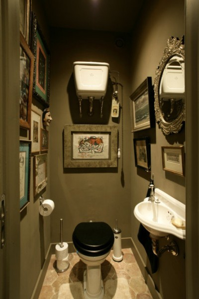 landelijke toilet - landelijke toiletten - landelijke wc - toilet landelijke stijl