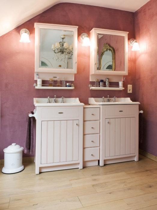 Landelijke design badkamermeubels taps baths - Foto badkamer meubels ...