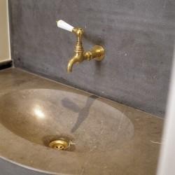 koperen kranen - koudwaterkraan