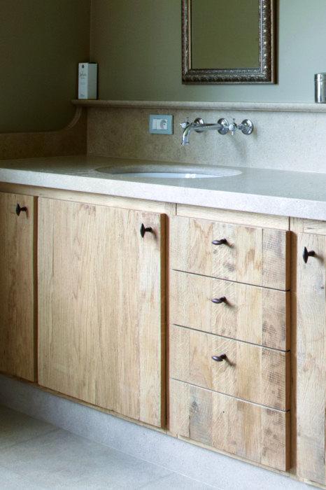 Landelijke design badkamermeubels taps baths - Badkamer meubels ...