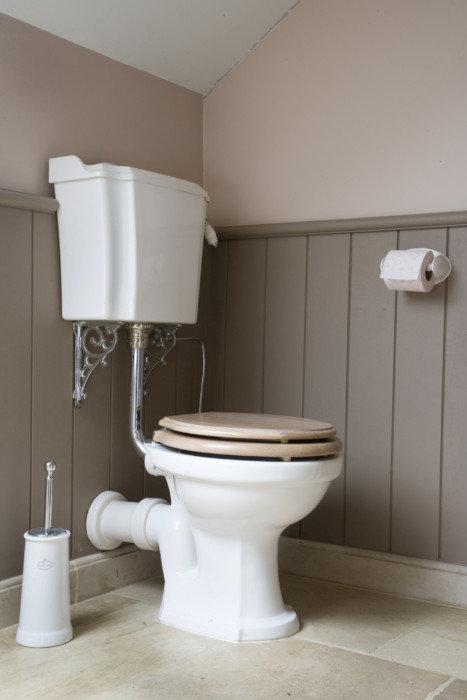 Landelijke klassieke retro toiletten taps baths - Stijl van toilet ...