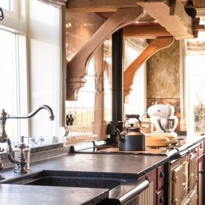 klassieke kranen - landelijke keukenkranen - landelijke stijl