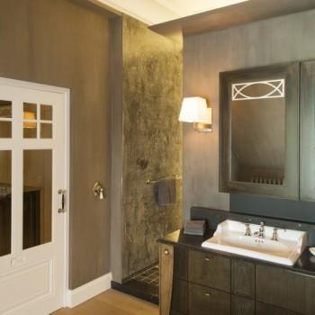 landelijke badkamers - landelijke stijl