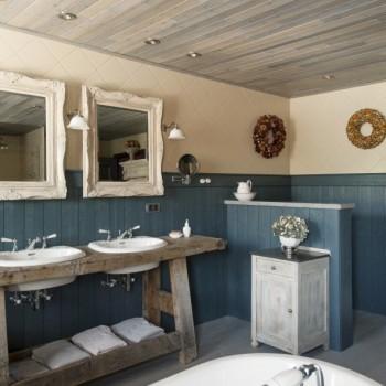 landelijke badkamer - landelijke stijl