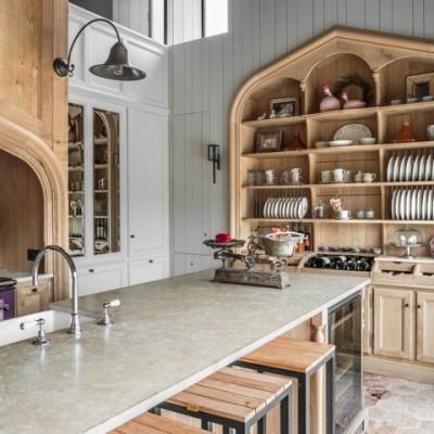 klassieke kranen - landelijke keuken