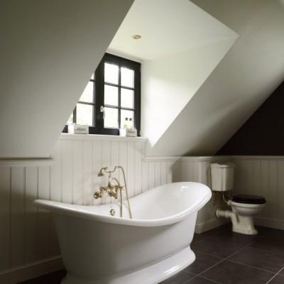 koperen kranen - vrijstaand bad