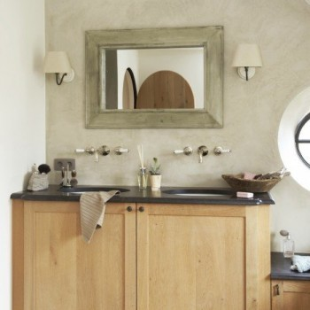 landelijke badkamer - landelijke stijk