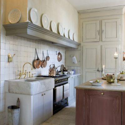 klassieke kranen - landelijke keuken - landelijke stijl