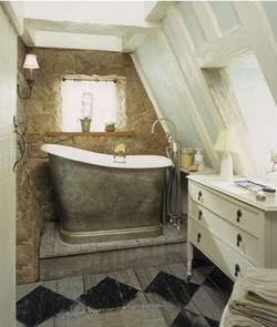 badkamer cottage stijl