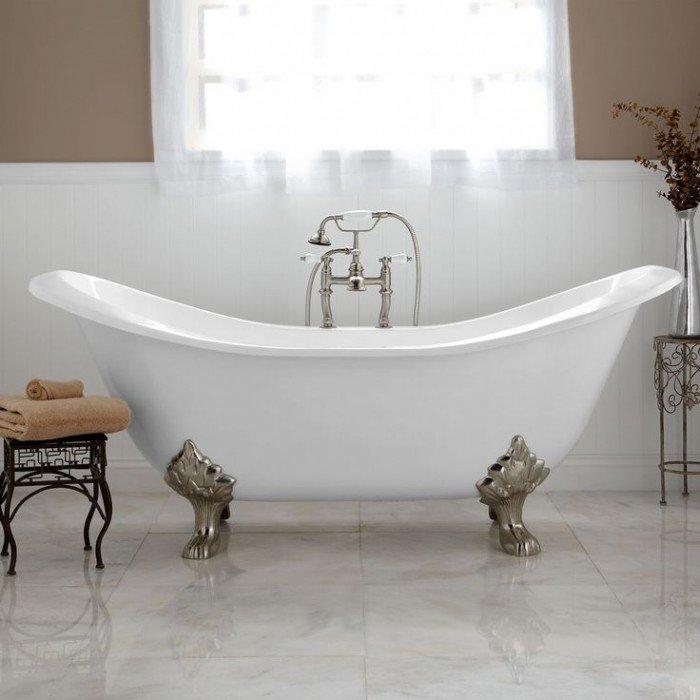Salles de bains information et inspiration | Bain sur jambes