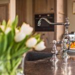 landelijke keukens - klassieke kranen - landelijke keukens - retro keukenkraan - nostalgische keukenkraan
