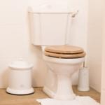 Duo block toilet