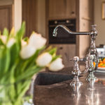 landelijke keukenkraan - klassieke kranen - keukenkraan landelijke stijl - retro keukenkraan