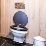 Landelijke hang wc