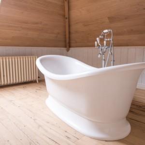 Vrijstaand bad op plint - Big White