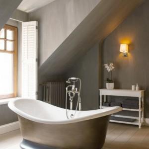 Vrijstaand bad op plint - Big White - Special Finis