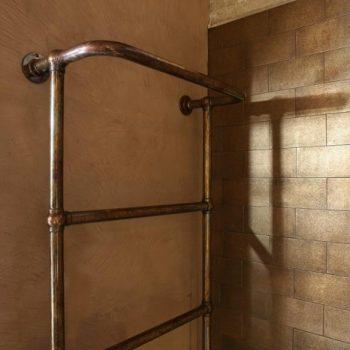 handdoekverwarmer - landelijke badkamer
