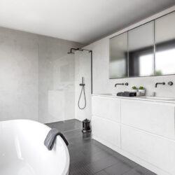 strak landelijk badkamermeubel