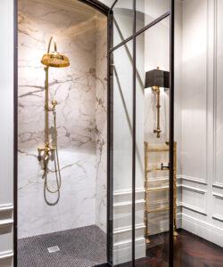 gouden douche