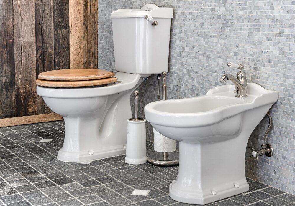 toilettes avec bidet
